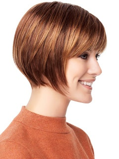 Short Hair Styles: Bobs with Bangs ( Fringe)