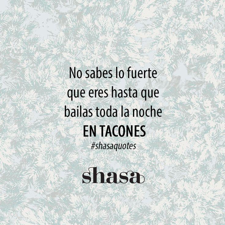 Mis viernes por la noche son de tacones http://www.shasa.com/