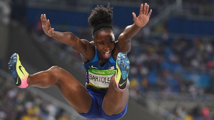The U.S. long jumper pulled off the upset to win Olympic gold.  Rio 2016: Tianna Bartoletta wins gold medal in women's long jump