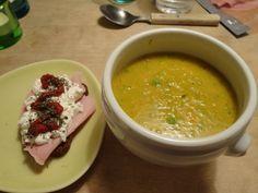 Lins- och grönsakssoppa med persilja
