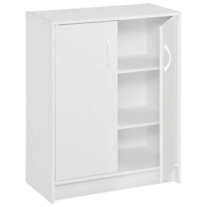 Closetmaid Two Door Storage Cabinet White Door Storage Closetmaid White Storage Cupboard