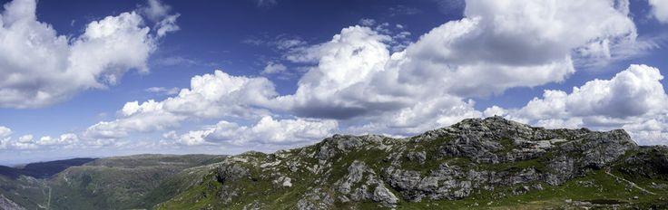 Mountain Panorama by Eirik Sørstrømmen on 500px