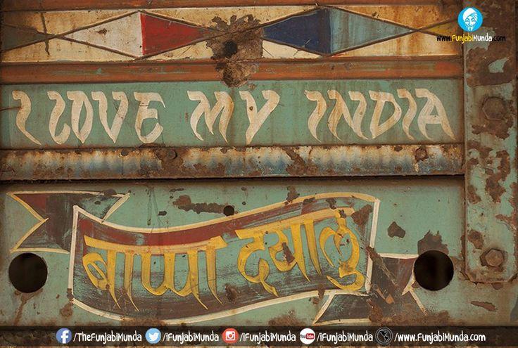 Vibrant And Colorful Indian Street Artwork ~ fuNJABi MuNDA