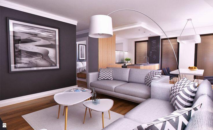 Salon styl Skandynawski - zdjęcie od Just Interiors - Salon - Styl Skandynawski - Just Interiors