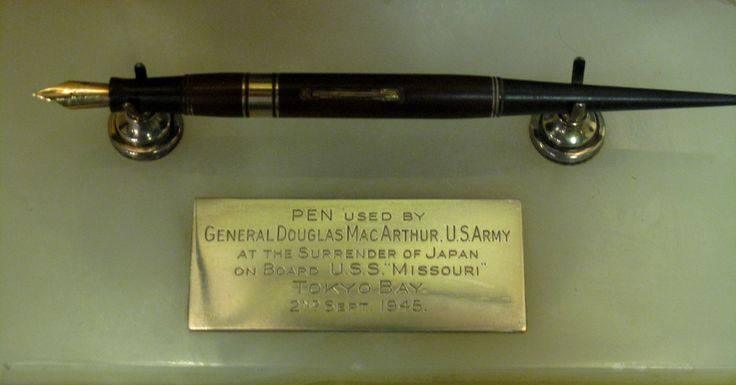 The Story of the Percival Pens – Used In The Japanese Surrender Ceremony