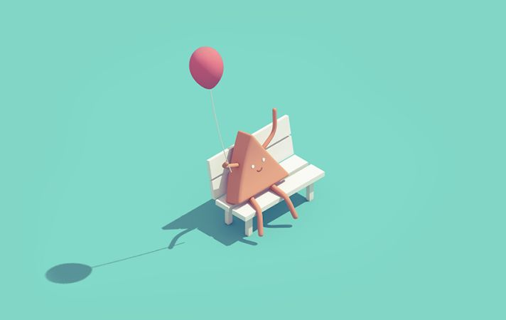 Simple day on Behance