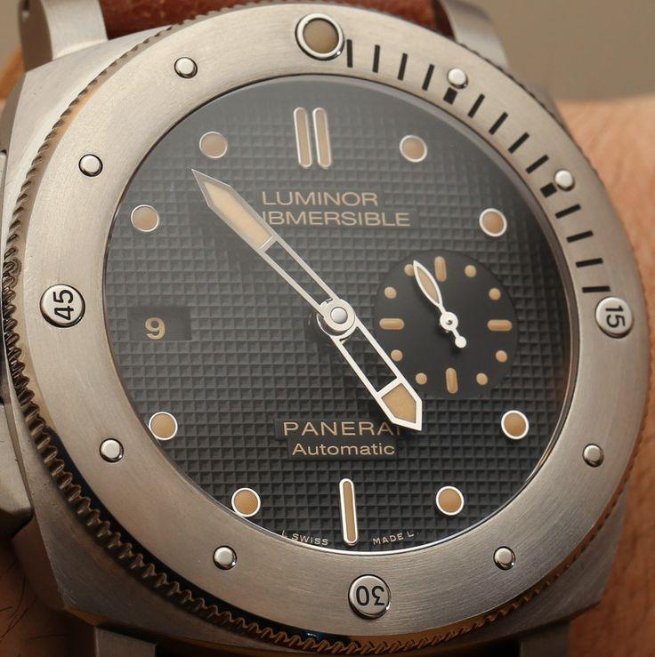 Panerai Luminor Submersible Left Handed Titanio PAM569