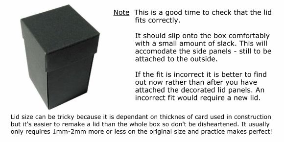 Small Butterfly Box tutorial - magic-boxes.com