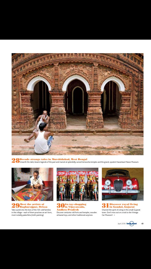Read Lonely Planet Magazine India On Magzter West Bengal