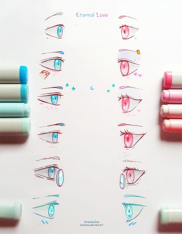 Ojos de perfil