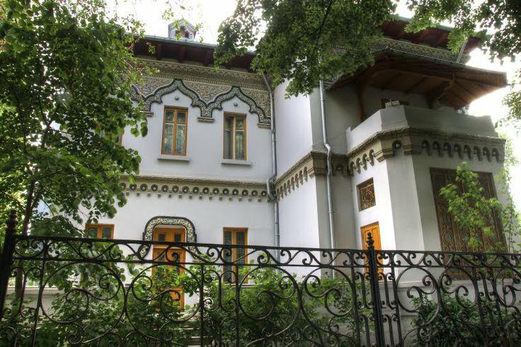 Casa robescu neo romanian architectural style the - Romanian architectural styles ...