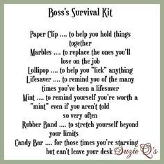 Image result for office stress survival kit
