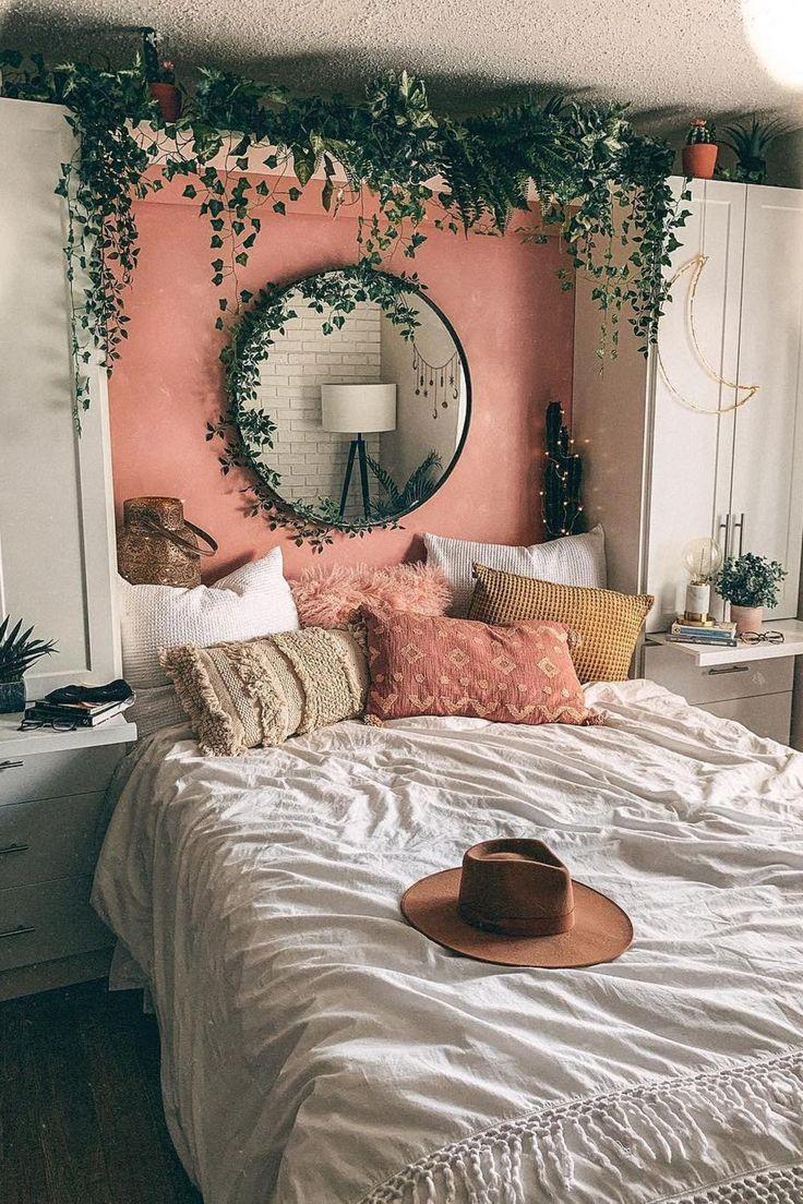 8+8 bohemian bedroom designs  Elcune in 8  Cool dorm rooms