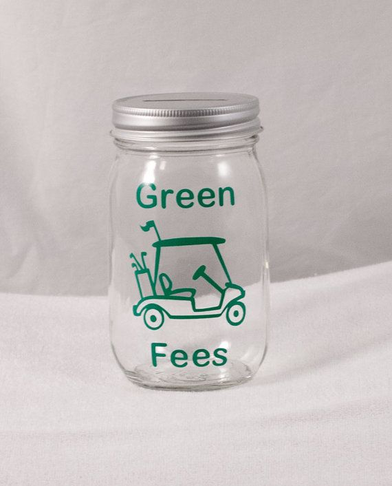 Great groomsmen gift Golf Money Bank by Millie's Gifts on Etsy, $12.00