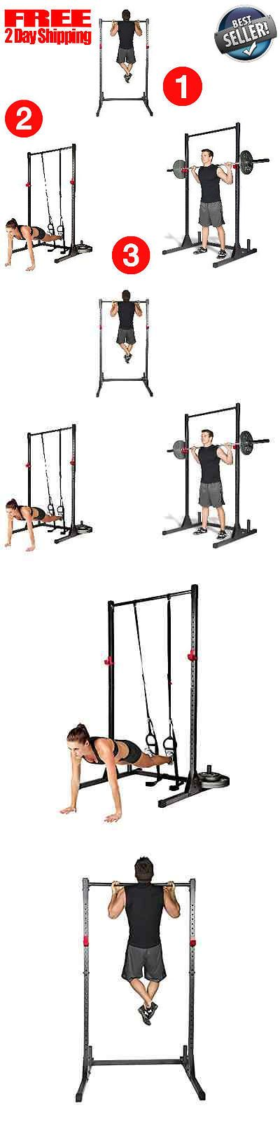 Pull Up Bars 179816: Home Gym Pull Up Bar Power Rack Exercise Stand Body Building Workout Fitness New BUY IT NOW ONLY: $111.04