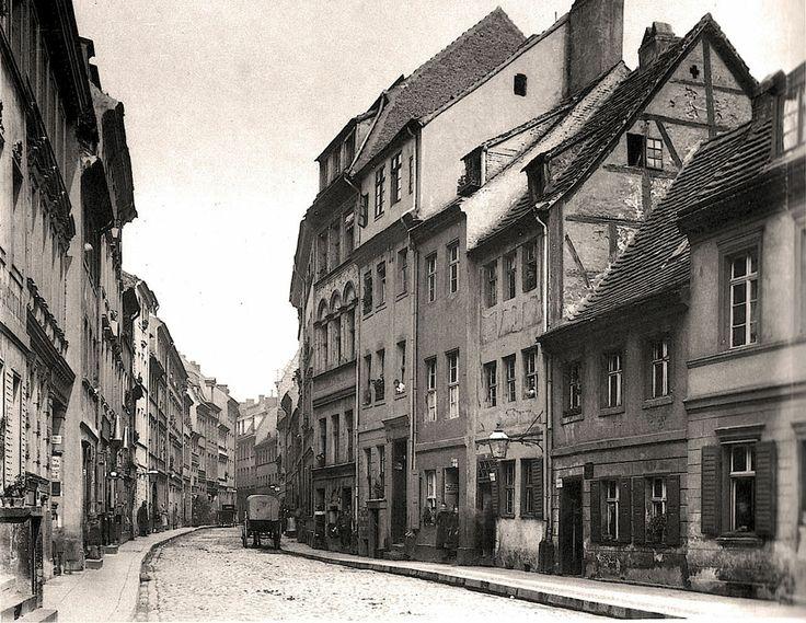 um 1880 Berlin - Petristraße (Foto: Friedrich Albert Schwartz)