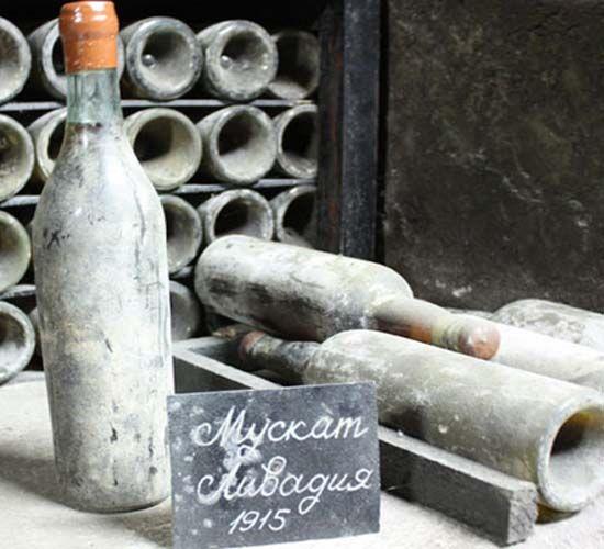 Czar Nicolas ll's 1915 White Muscat wine bottle goes on auction