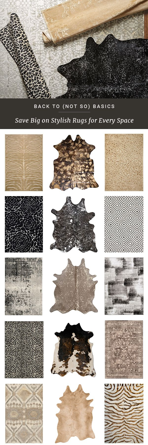 With unique shapes and natural elements, simple is beautiful. Rugs with sophisticated color and classic design are the perfect fit for any room. Get inspired at jossandmain.com