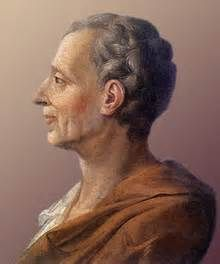 """NTK 2: Montesquieu was a French noble who wrote a famous book in 1748, """"The Spirit of the Laws"""", that explained his thoughts and studies of government. He used the Scientific Method to explain the social and political relations in humans. He recognized republics, despotism, and monarchies. He spilt the government into three branches, the executive, legislative, and judicial branch. This created a separation of power."""