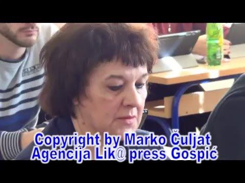 e-GIMNAZIJA GOSPIĆ ©Marko Čuljat Lika press www.licke-novine.hr Lička te...