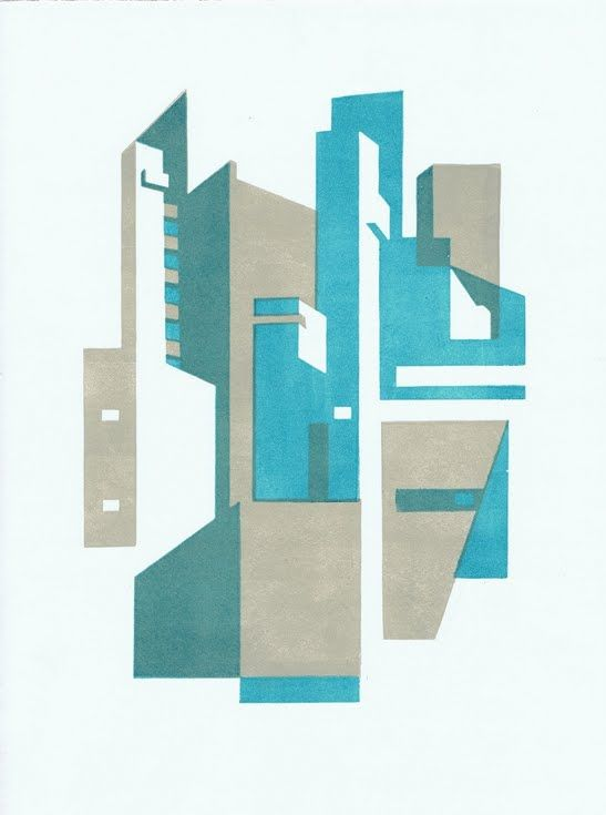 Geometric Abstracts - Imaginary regularity, architecture, and design