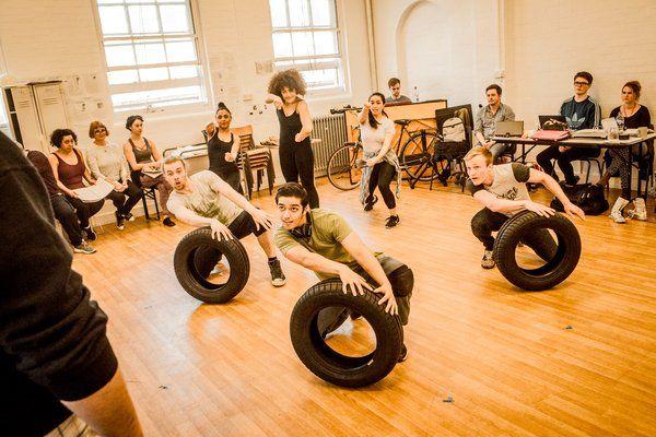 Photo Flash: Inside Rehearsal for the European Premiere of Stephen Schwartz's WORKING