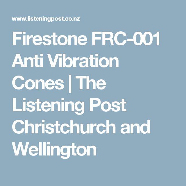 Firestone FRC-001 Anti Vibration Cones | The Listening Post Christchurch and Wellington