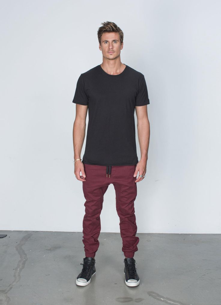 jogger pants with button up - Google Search