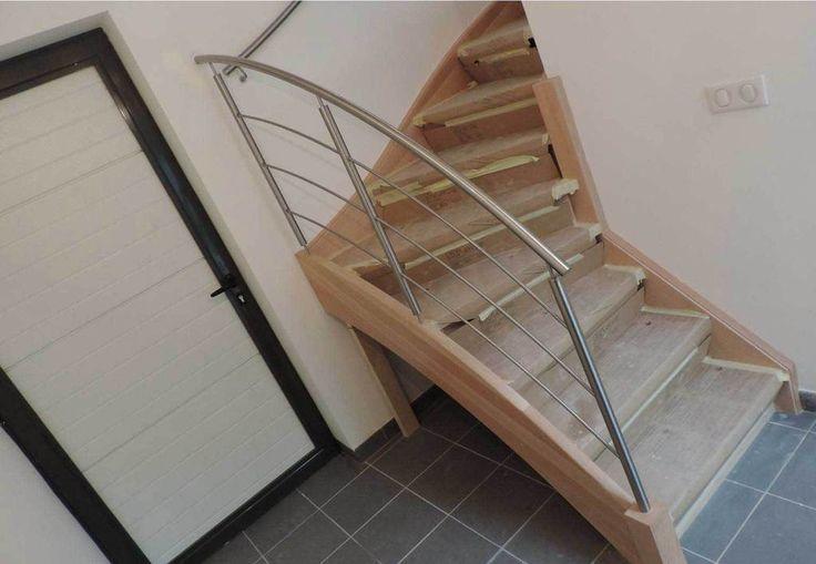 25 beste idee n over metalen trap op pinterest trap for Balustrade trap