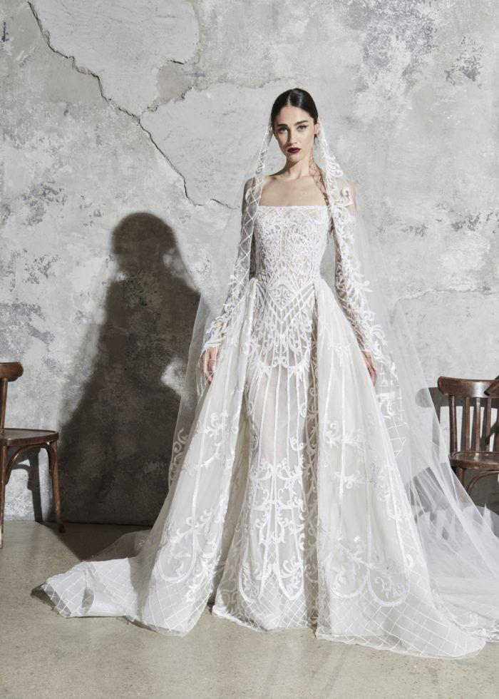 Zuhair Murad S Stunning 2020 Bridal Collection Chic Vintage Brides Wedding Dress Couture Wedding Dresses Zuhair Murad Zuhair Murad Bridal