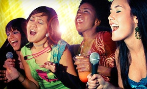 Groupon - Karaoke Package for Two or Private Studio Rental Package for up to 10 at Limelight Stage & Studios (Up to 77% Off) in Boston (Limelight Stage & Studio ). Groupon deal price: $15.00