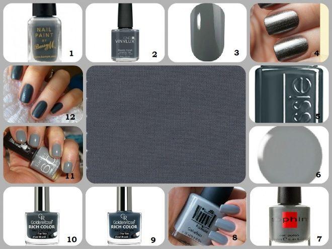 Модные цвета лаков для ногтей осень-зима 2015-2016 (Часть 1) — Отзывы о косметике — Косметиста