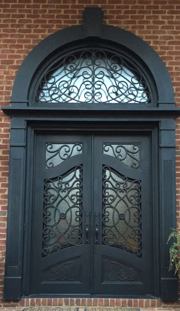 Beautiful entry doors in Georgia!