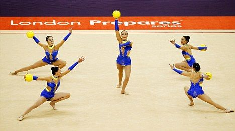 The Great Britain team Olympics 2012