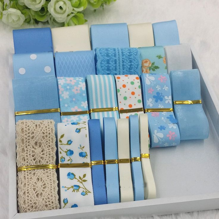 Find More Ribbons Information about 23meters blue mixed ribbon polyester ribbons hair bow tapes printed grosgrain ribbon organza ruban satin fita nastro raso  R1476,High Quality bow,China bow dress Suppliers, Cheap bow button from DIY Supplies on Aliexpress.com