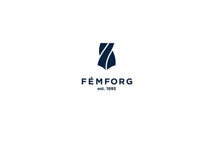 FÉMFORG logo design by @Dekoratio Brand Studio