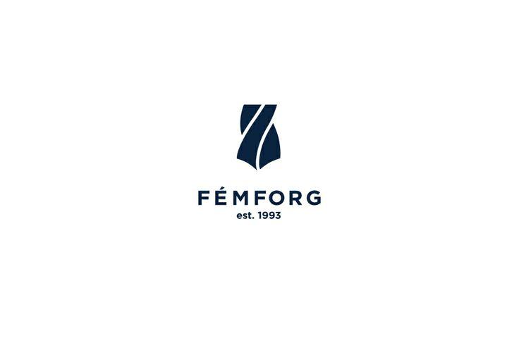 FÉMFORG logo design by @Dekoratio Brand Studio