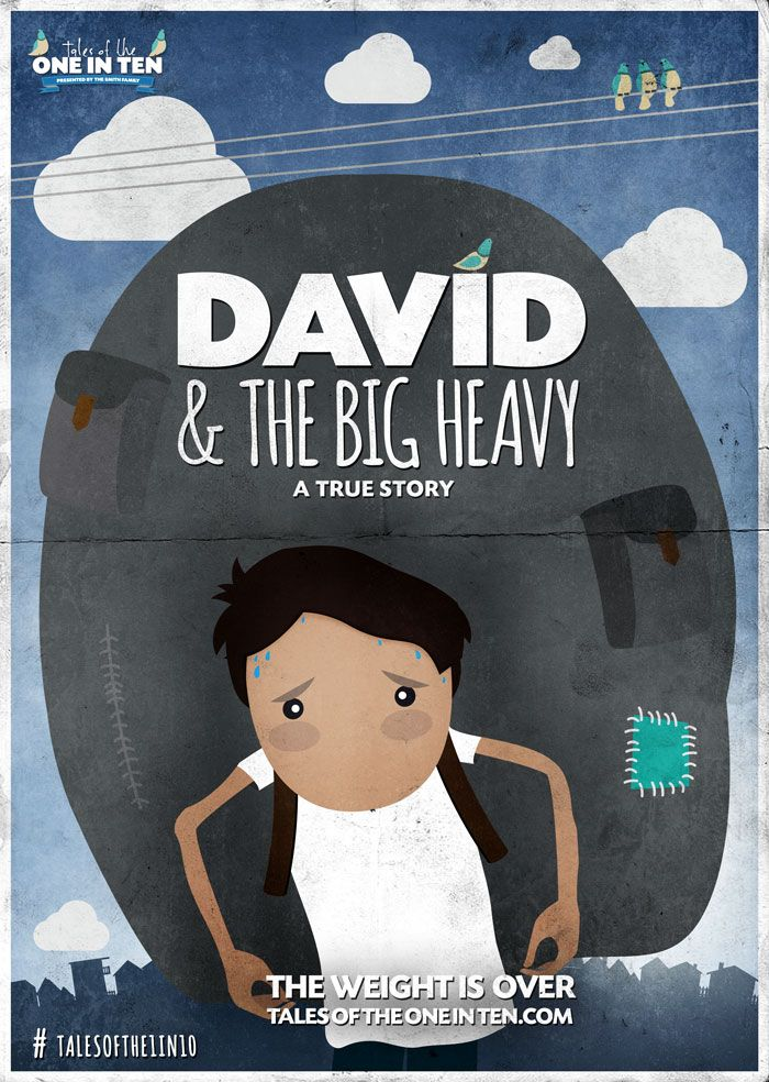David & The Big Heavy Poster - Tales of the Tales Of The One In Ten Series