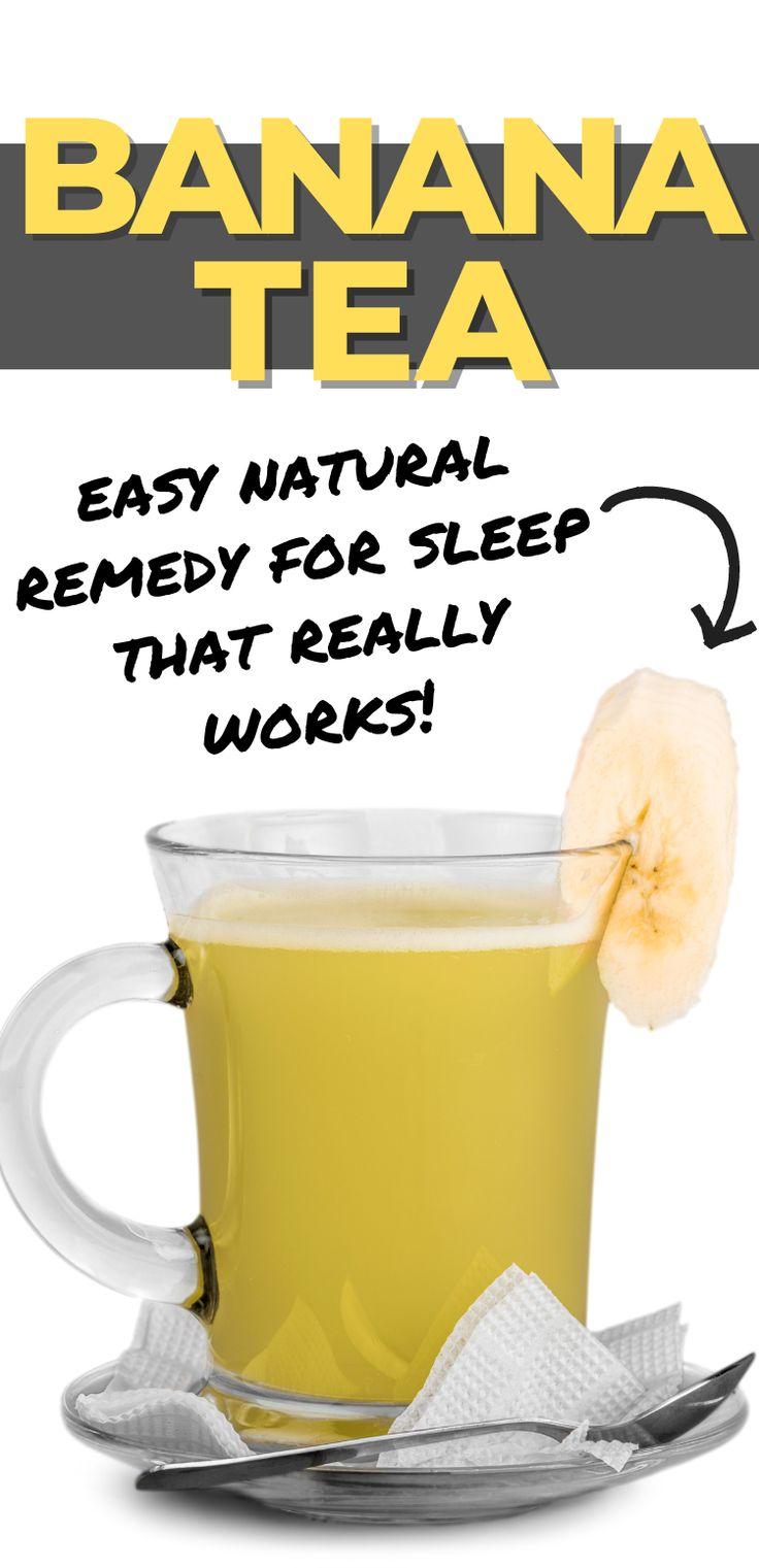 Banana Peel Tea Recipe For Peaceful Sleep | Recipe in 2020 ...