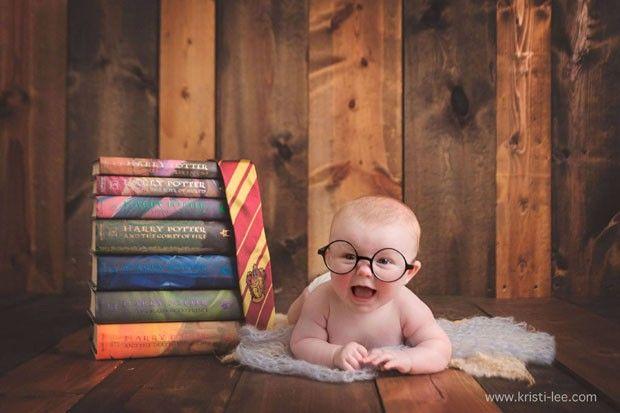 Quarto Harry Potter (Foto: Reprodução/Facebook Kristi Lee Photography)