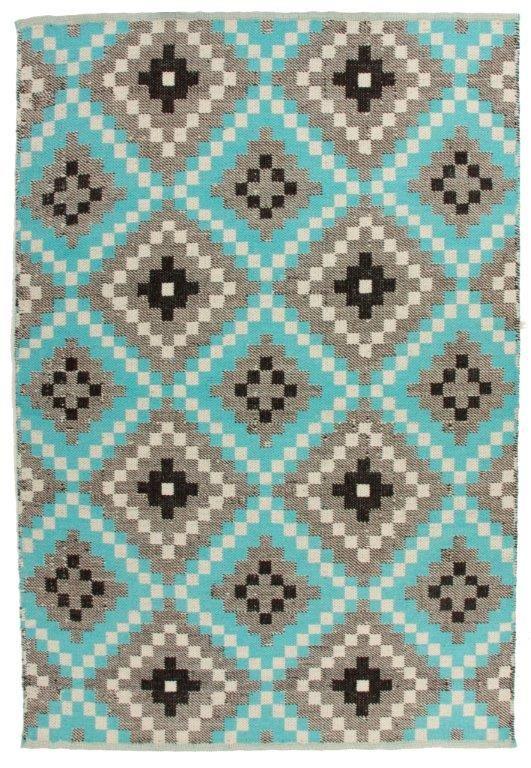 Vallila Interior - Zelda turquoise rug