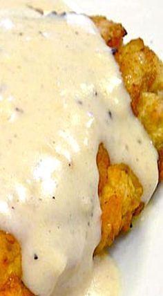 Texas Style Chicken Fried Steak with Cream Gravy ❊