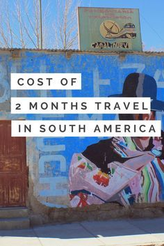 What were the costs of 2 months travel in South America? Take a look at this detailed overview inc. average costs per day, price examples and budget tips.   By Bunch of Backpackers