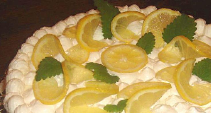 Tejszínes citromtorta recept   APRÓSÉF.HU - receptek képekkel