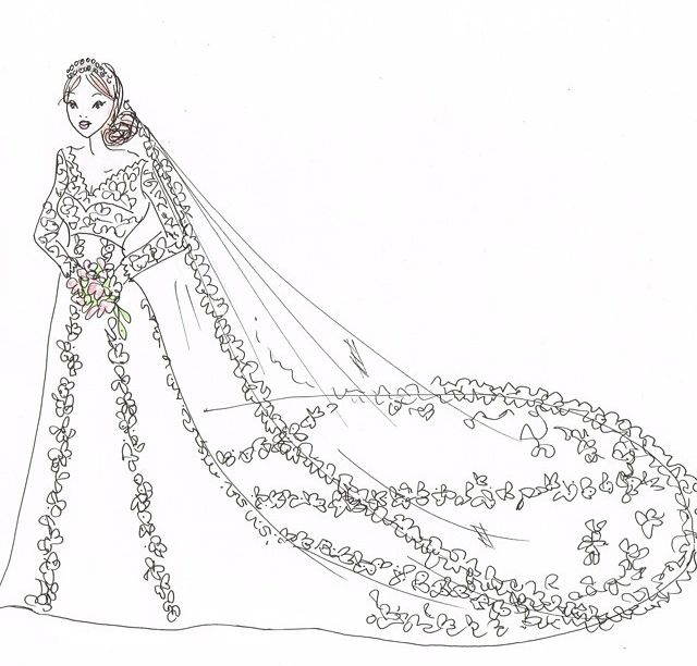 263 best images about royal weddings on pinterest duke for Swedish wedding dress designer