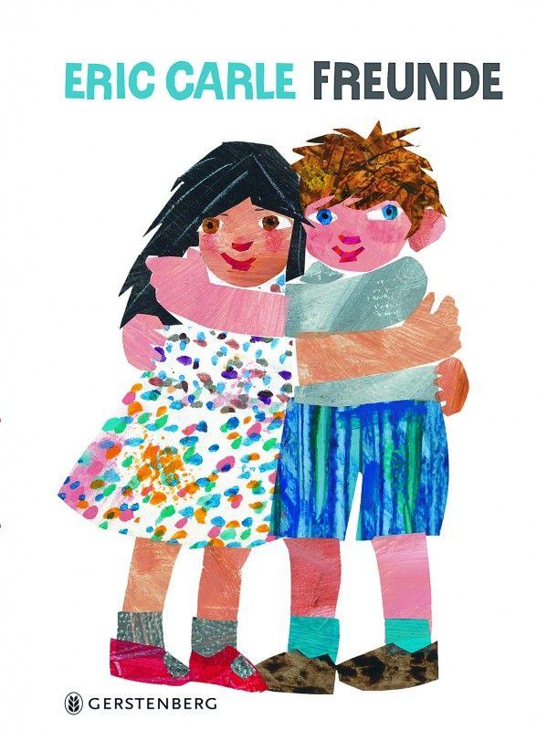 Ein wundervolles Bilderbuch über Freundschaft: FREUNDE von #Gerstenberg-Verlag #Eric-Carle http://paulineshouse.com/freunde-ericcarle-bilderbuch/