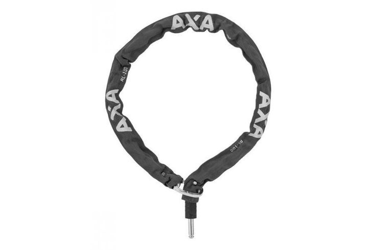 Axa RLC100 Insteek Ketting 100 cm Zwart Met Tas - Fietsenwinkel.nl