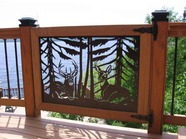 Deck Railing Panels Wildlife Home Amp Business Accessories