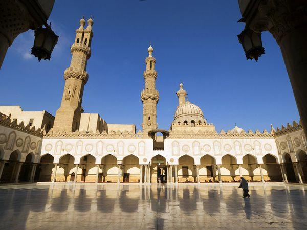 Al-Azhar Mosque, Cairo  Photograph by Jochen Schlenker/Radius Image