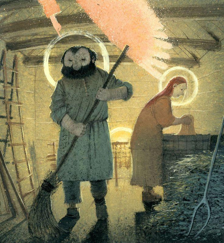 Игорь Олейников — Вол и осёл при яслях